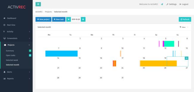 System ActivREC to nie tylko monitorowanie bieżących postępów