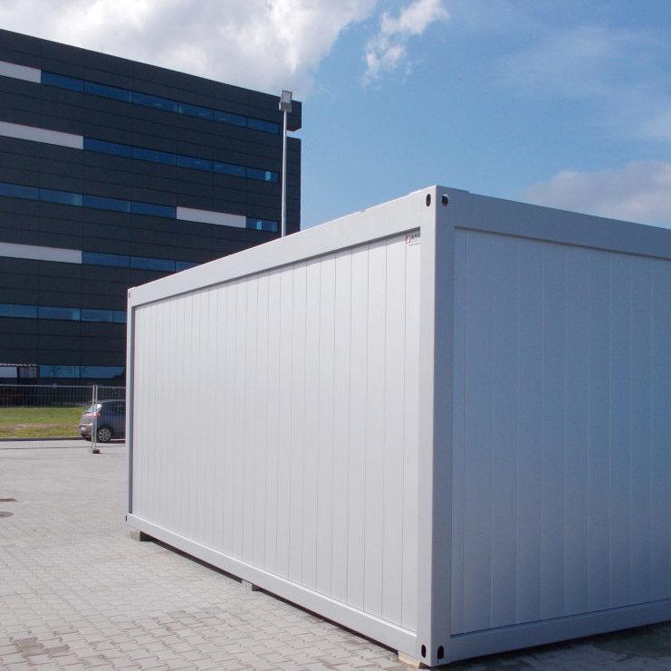 Siedziba firmy w kontenerze biurowym