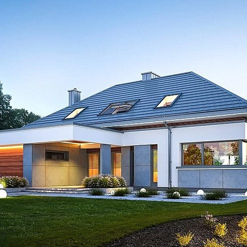 Projekty domów nowoczesnych - o czym pamiętać?