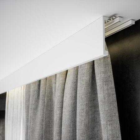 Jak ukryć szynę sufitową bądź karnisz?