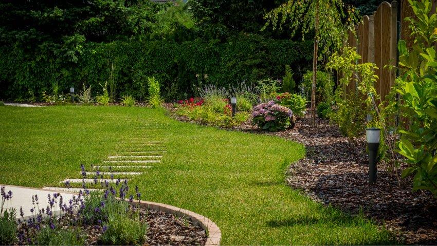 Podział ogrodu i wstępna wizja