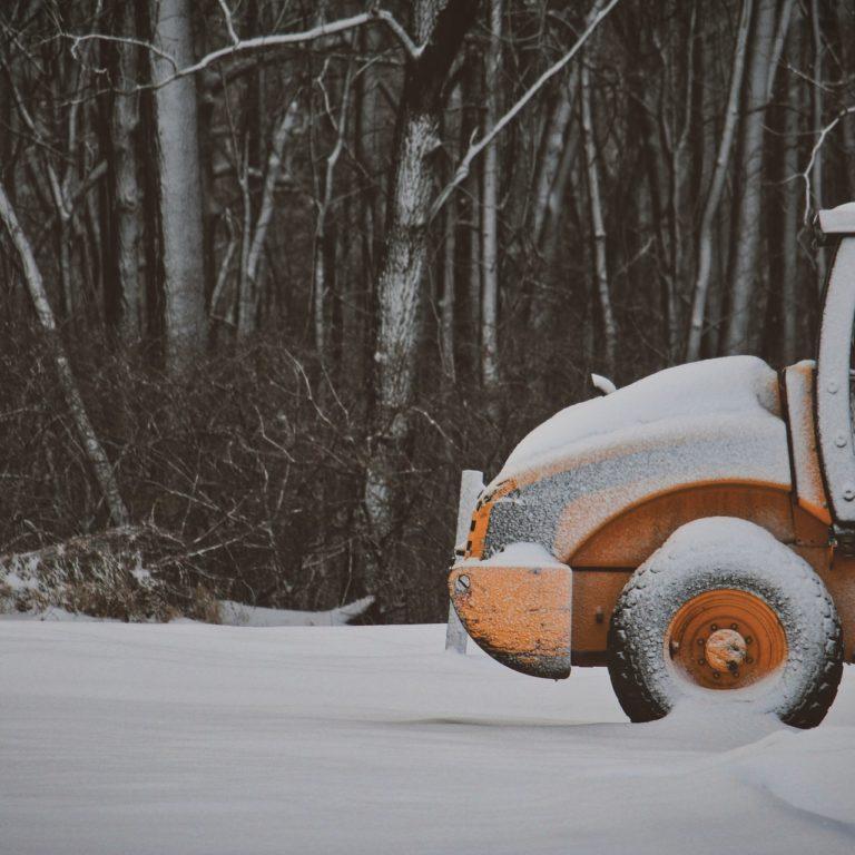 Prace ziemne podczas zimy - na ile pozwala pogoda?