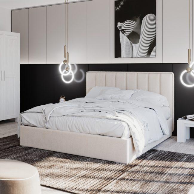 Łóżko tapicerowane – do jakiej sypialni pasuje?